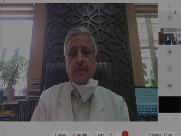 Delhi AIIMS  director Dr Randeep Guleria.