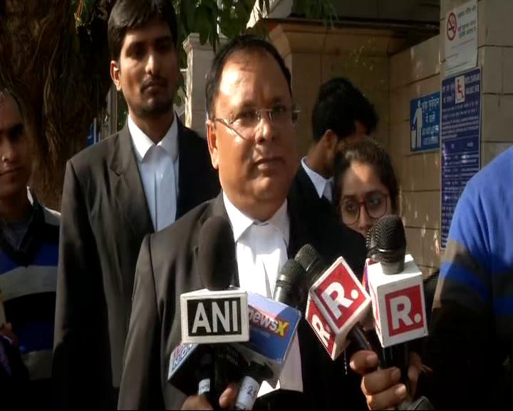 Gautam Khaitan's counsel Pramod Kumar Dubey speaking to the media on Friday