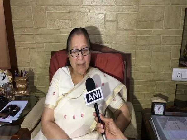Sumitra Mahajan speaking to ANI in Indore on Monday.