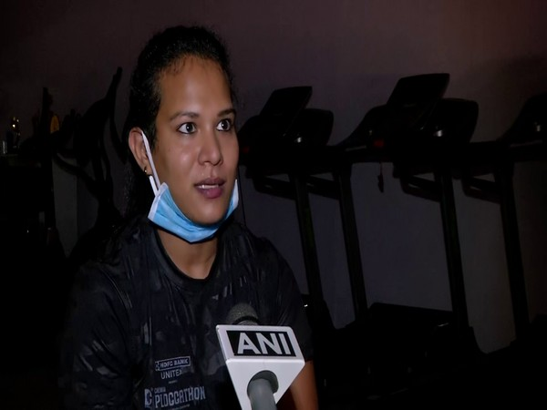 Ruby Beauty, a popular fitness icon in conversation with ANI. (Photo/ANI)