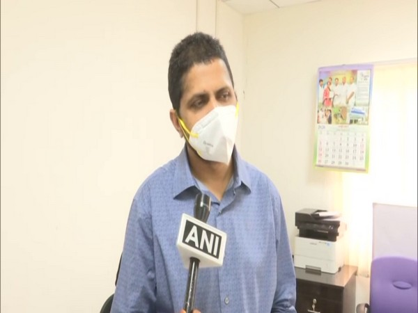 Katamaneni Bhaskar, Commissioner of Andhra Pradesh Health and Family Welfare Department in conversation with ANI on Wednesday. Photo/ANI