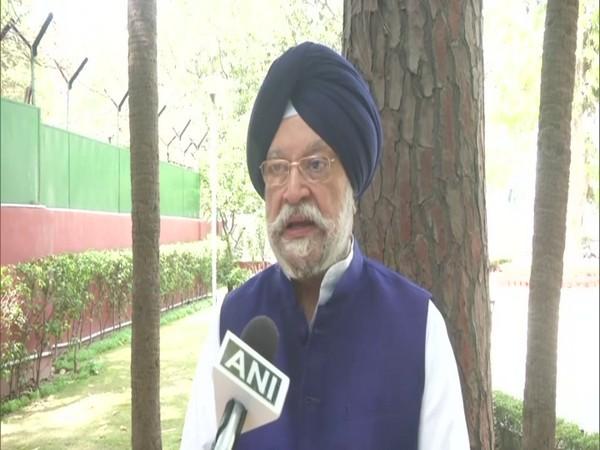 Union Civil Aviation Minister Hardeep Singh Puri. (Photo/ANI)