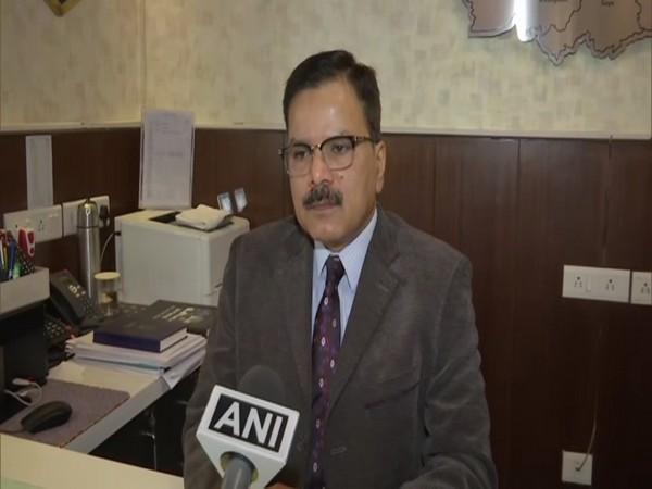 Bihar ADG Jitendra Kumar speaking to ANI on Wednesday. (Photo/ANI)