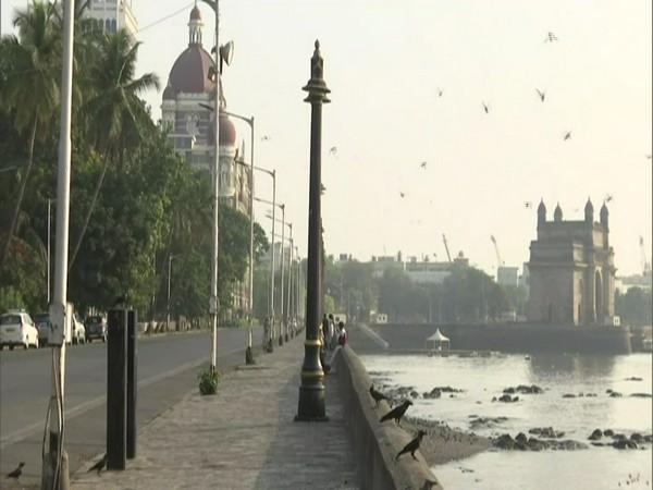 Visual from Gateway of India in Mumbai.