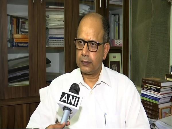 Amar Patnaik speaking to ANI on Monday.