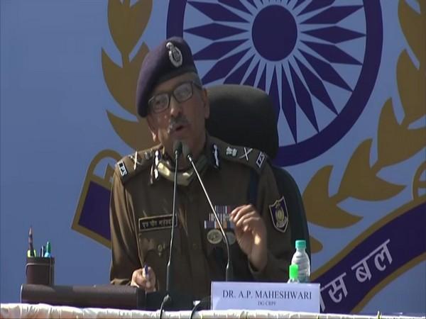 CRPF Director General AP Maheshwari