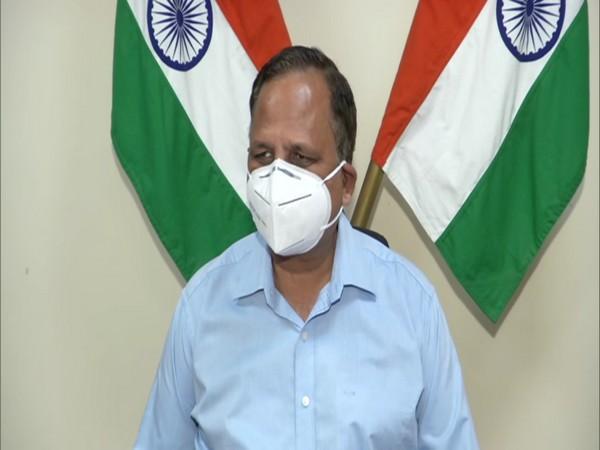 Delhi Health Minister Satyendar Jain. (Photo/ANI)