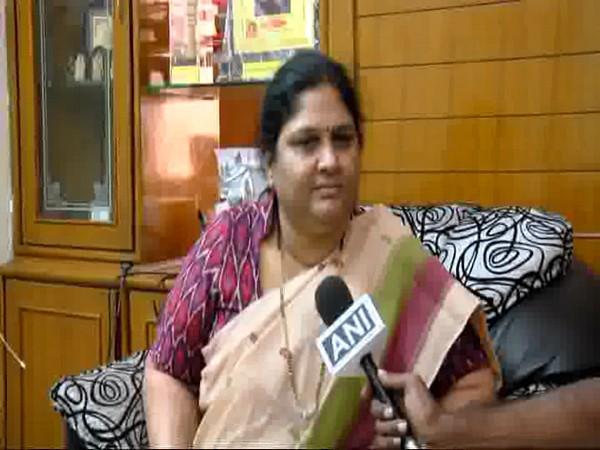 Kothapalli Geetha speaking to ANI on Monday