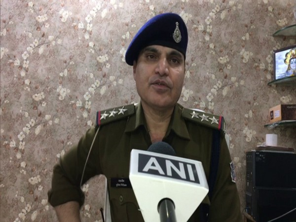 Tehzeeb Qazi, Station House Officer, Vijay Nagar Police Station (Photo/ANI)