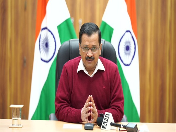 Delhi Chief Minister, Arvind Kejriwal addressing a press conference on Sunday. (Photo/ANI)