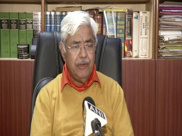 International Working President of the Vishwa Hindu Parishad (VHP) Alok Kumar