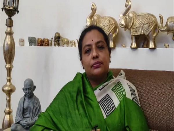 Maharashtra Women and Child Development Minister Yashomati Thakur in conversation with ANI. (Photo/ANI)