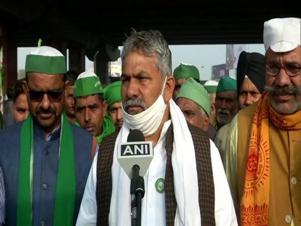 BKU spokesperson Rakesh Tikait (Photo/ANI)