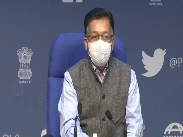 Union Health Secretary, Rajesh Bhushan (Photo/ANI)
