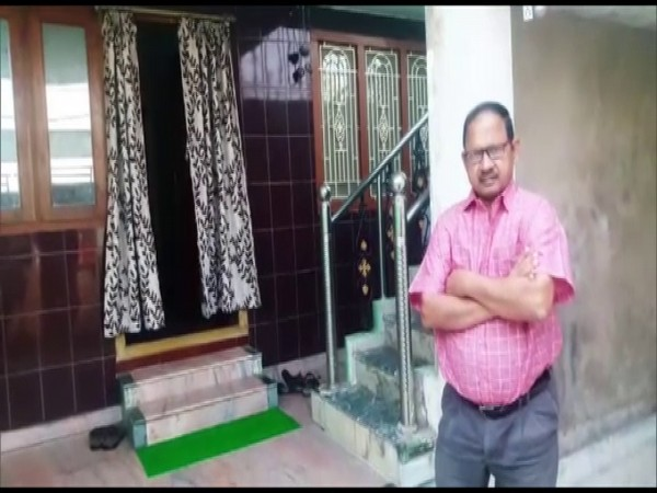 Jay Kishore Pradhan, 64-year-old retired banker enrolled for MBBS this year. (Photo/ANI)