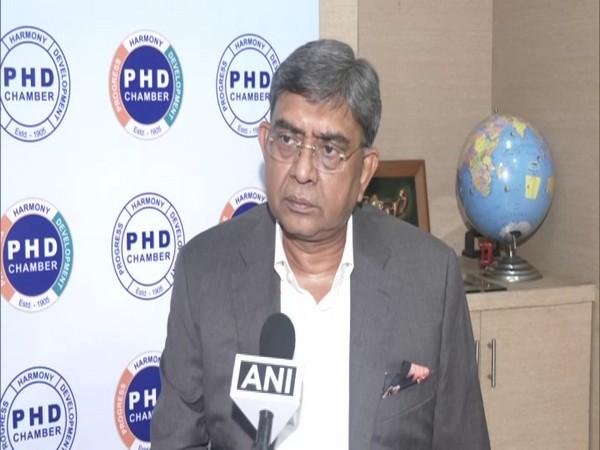 Sanjay Aggarwal, President PHDCCI (Photo/ANI)