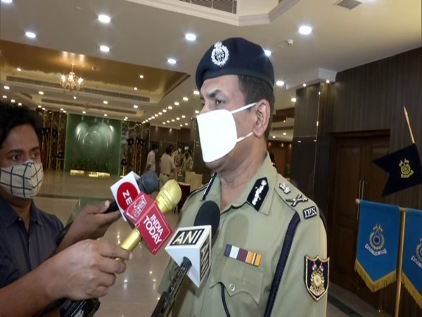 The Director-General of Central Reserve Police Force Kuldiep Singh. (Photo/ANI)