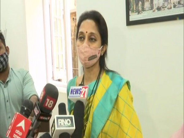 NCP MP Supriya Sule (photo/ANI)