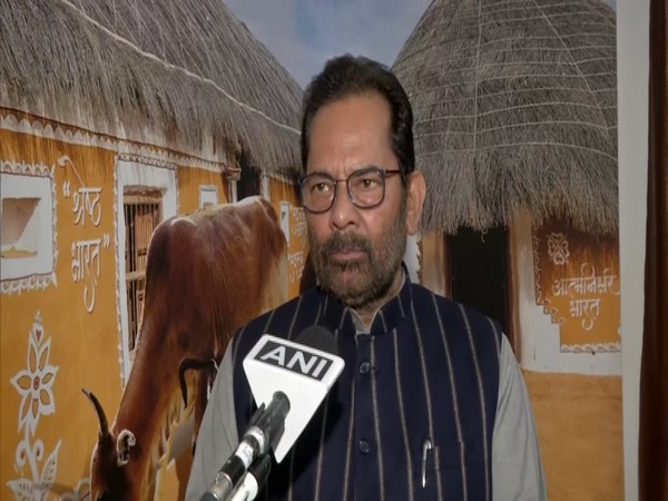 Union Minister of Minority Affairs, Mukhtar Abbas Naqvi