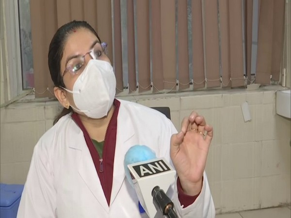 vaccination officer at GTB Hospital talking to ANI on Saturday.