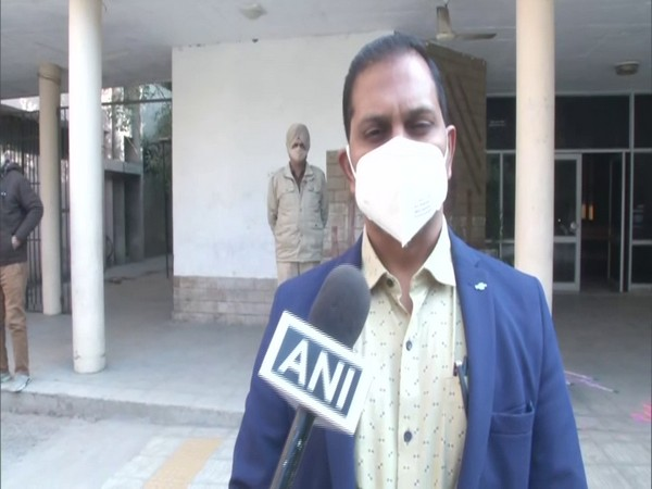 Sandeep Kumar, Additional Deputy Commissioner, Ludhiana (Photo/ANI)