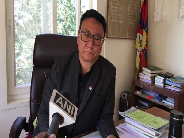 Palden, Health Secretary of the Central Tibetan Administration in conversation with ANI. (Photo/ANI)