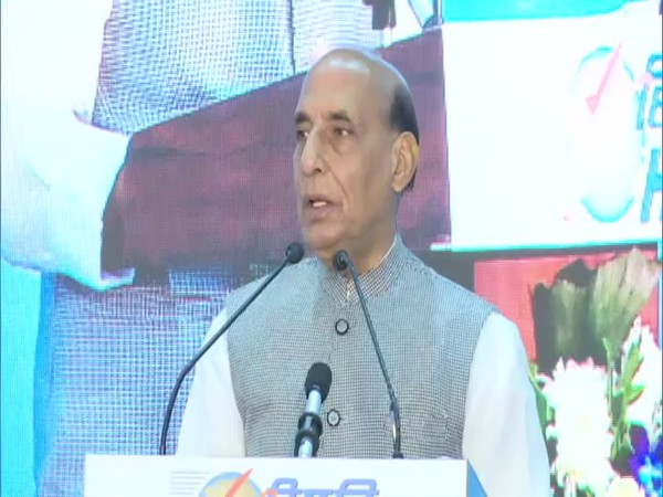 Defence Minister Rajnath Singh.