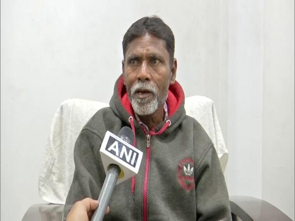 Sheikh Mehraj, Father of victim Farheen Begum (Photo/ANI)
