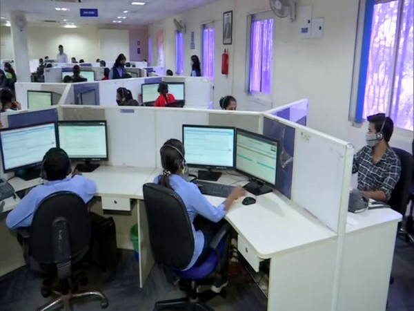 Control room of Maharashtra Emergency Medical Services in Pune. (Photo/ANI)