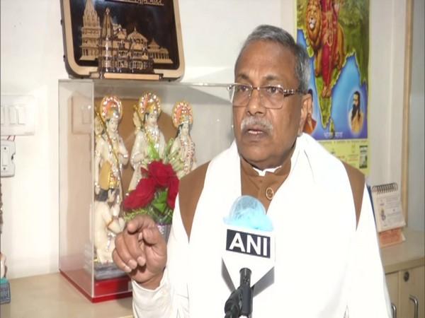 VHP's international joint general secretary, Surendra Jain talking to ANI on Friday.