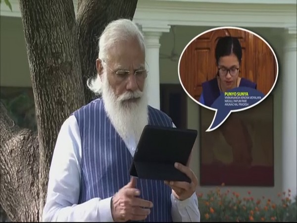 Prime Minister Narendra Modi interacted with students during 'Pariksha Pe Charcha 2021' via video conferencing.