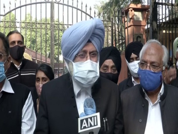Senior advocate HS Phoolka in conversation with ANI. (Photo/ANI)