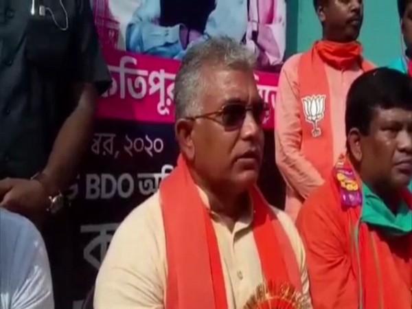 Bharatiya Janata Party state president Dilip Ghosh