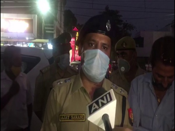AAP party workers protest outside BJP headquarters. (File photo)