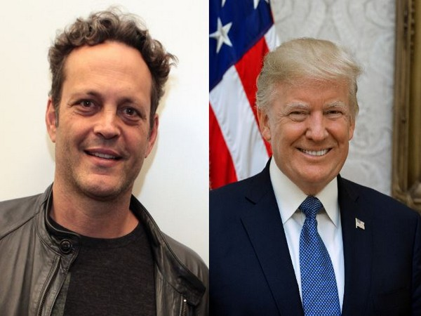 Vince Vaughn and US President Donald Trump