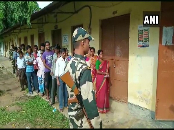 Voting for bye-elections underway at Bhadharghat assembly constituency