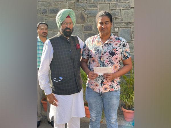 Rana Gurmit Singh Sodhi with Kamalpreet Kaur