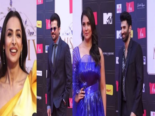 Malaika Arora, Anil Kapoor, Lara Dutta, and Aditya Roy Kapur attended  Grand Finale of Liva Miss Diva 2020