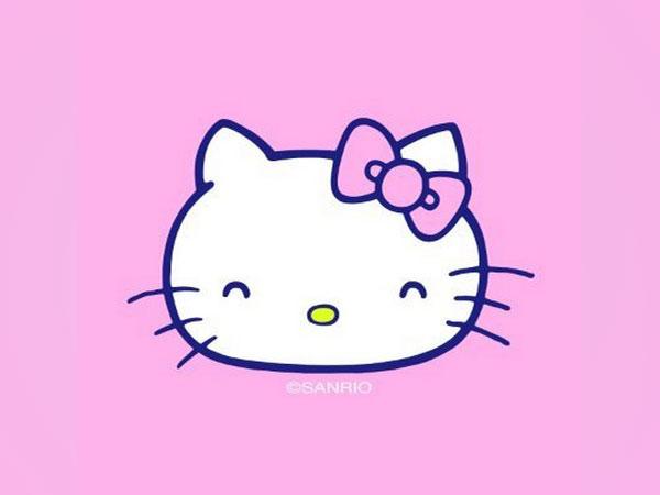 Hello Kitty logo (Image courtesy: Twitter)