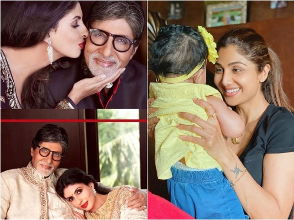 Pictures shared by Amitabh Bachchan, Shilpa Shetty Kundra (Image courtesy: Instagram)