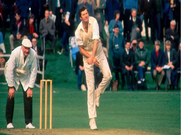 Former England all-rounder Peter Walker (Photo/Glamorgam Cricket Twitter)