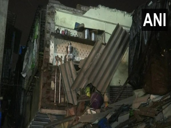 Wall of a house collapsed in Mumbai on Saturday night