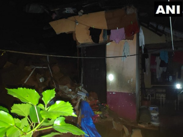 Two children died in wall collapse at Mangaluru on Sunday