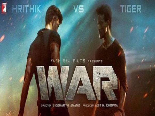 Poster of 'War' (Image courtesy: Instagram)