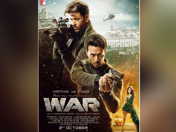 The poster of 'WAR' movie (File photo)