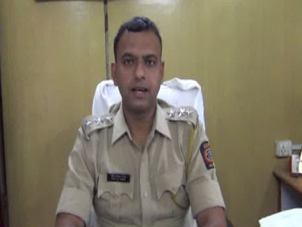 Pradeep Maral, Sub-Divisional Police Officer (SDPO) of Arvi, while talking to ANI. (Photo:ANI)