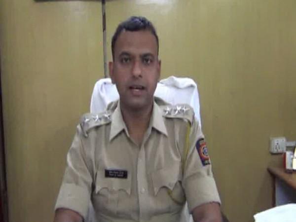 Pradeep Maral, Sub-Divisional Police Officer (SDPO) of Arvi, while talking to ANI. (Photo:ANI)