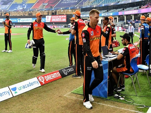 SRH skipper Warner (Photo/ iplt20.com)