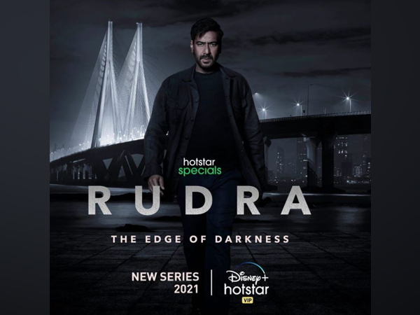 Poster of 'Rudra-The Edge of Darkness' (Image source: Instagram)