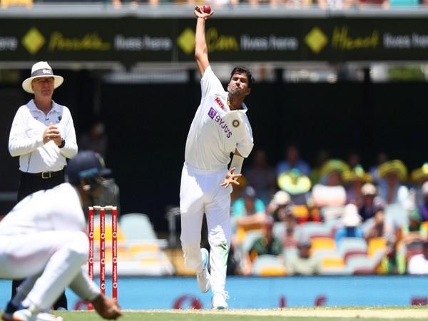 India cricketer Washington Sundar (Image: ICC Twitter)
